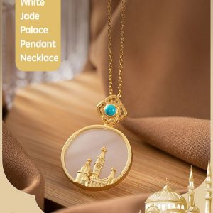 Jade Palace Design Pendant & Necklace