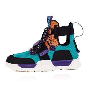 Unisex 5G Print High Top Trainers